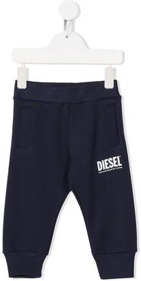 Diesel Logo Print Track Pants