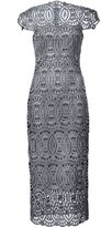 Christian Siriano lace embroidered dress