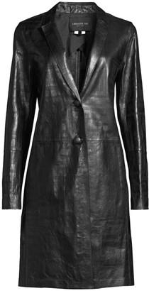 Lafayette 148 New York Jobelle Lambskin Leather Jacket