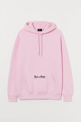 H&M Regular Fit Hoodie - Pink