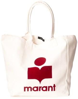 Isabel Marant Yenky Bag in Ecru