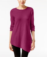 Alfani Asymmetrical Sweater, Only at Macy's