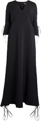 Marina Rinaldi Long Crepe Dress