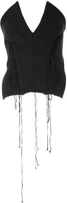 Yohji Yamamoto Pre-Owned corset bustier top