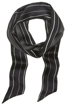 Vince Camuto Mixed-stripe Skinny Scarf