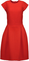 Oscar de la Renta Wool-blend dress