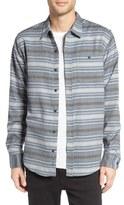 Ezekiel Ezekial Zuma Regular Fit Stripe Shirt