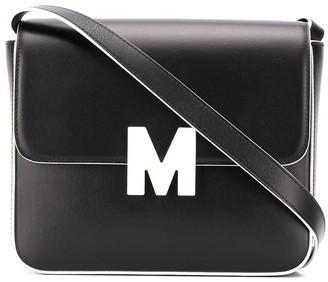MSGM M box shoulder bag