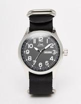 Limit Canvas Watch In Black