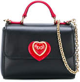 Dolce & Gabbana heart patch shoulder bag