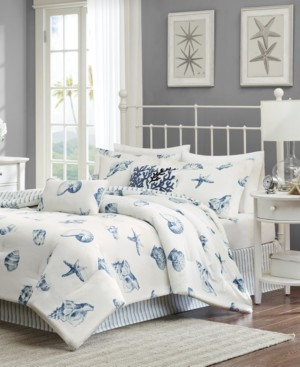 Harbor House Beach House 4-Pc. California King Reversible Comforter Set Bedding