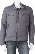 Andrew Marc Men's Matte Shell Moto Jacket
