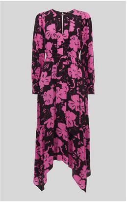 Whistles Ari Hibiscus Belted Dress