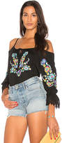 VAVA by Joy Han Ganet Top in Black. - size M (also in S,XS)