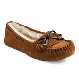 Women's Michalyn Suede Fringe Moccasin Slippers - Mossimo Supply Co.