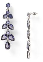 ABS by Allen Schwartz Linear Chandelier Earrings