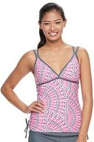 Free Country Women's Medallion Tankini Top