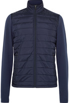 Rlx Ralph Lauren - Stretch-wool And Quilted Shell Jacket