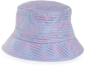 Eugenia Kim Beckett Stripe Organza Bucket Hat