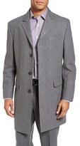 Hart Schaffner Marx Men's 'Maitland' Classic Fit Wool Blend Overcoat