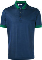Brioni contrast trim polo - men - Cotton - L