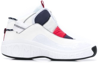 Tommy Jeans Heritage padded zip-up sneakers