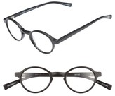 Eyebobs Men's Board Stiff 43Mm Reading Glasses - Matte Black