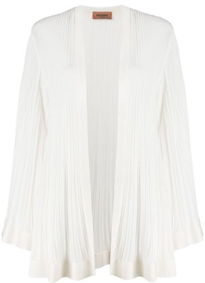 Missoni Micro-Pleated Longline Cardigan