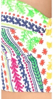 Mara Hoffman Medicine Wheel Embroidered Bustier Top