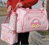 Lefox Multi function Mommy pack single shoulder backpack baby bag pink(LU22) by Lefox