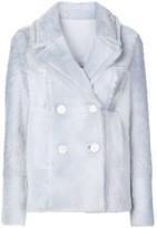 Yves Salomon Double-Breasted Coat