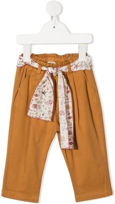 Zhoe & Tobiah Scarf Detail Trousers