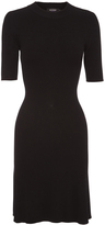 Oxford Dakota Knit Dress Blk X