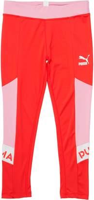 Girls' Colorblock Spandex Fashion Leggings JR