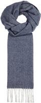 Eton Blue Wool Scarf