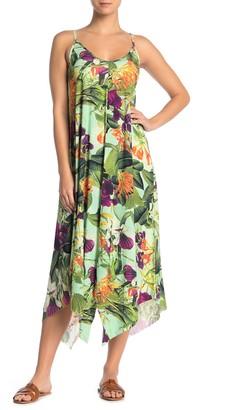 Pilyq Lynn Floral Cover-Up Midi Dress