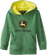 John Deere Little Boys' Toddler JD Logo Fleece Hoodie