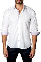 Jared Lang Cotton Button-Down Sportshirt