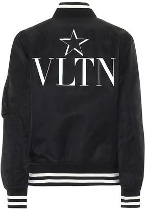 Valentino jersey bomber jacket