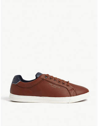 Ted Baker Thwally leather trainers