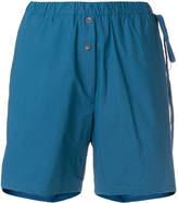 Humanoid elastic waist shorts