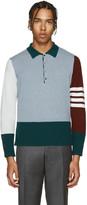 Thom Browne Multicolor Cashmere Funmix Polo