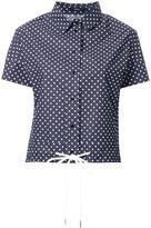 Bassike polka dot shirt