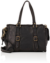 Campomaggi WOMEN'S CONTRAST-TOPSTITCHED SHOULDER BAG