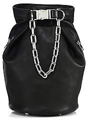 Alexander Wang Women's Washed 2 Dry Sack Leather Crossbody Bag
