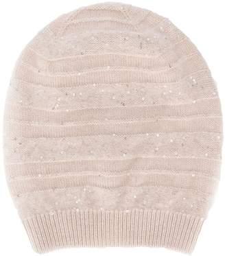 Fabiana Filippi classic knitted beanie hat