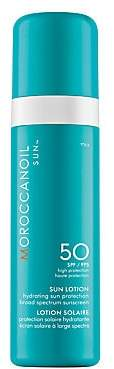 Moroccanoil Women's Sun Lotion SPF 50 Hydrating Sun Protection Broad Spectrum Sunscreen