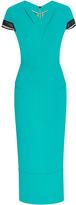 Roland Mouret Sea Green Gibson Dress