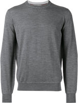 Brunello Cucinelli plain sweatshirt - men - Cashmere/Virgin Wool - 48