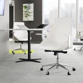 """Upper Squareâ""""¢ Edsall Task Chair Upper Squarea Upholstery Color: White"""